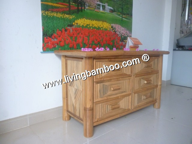 Bamboo Cabinet-MO CAY CABINET