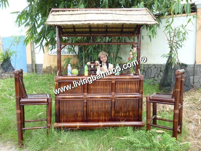 Bamboo Tiki Bar-NHA TRANG BAR BROWN COLOUR