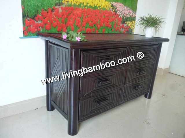 Bamboo Cabinet-MO CAY CABINET WASHING BLACK