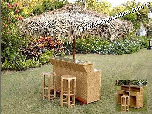 Bamboo Tiki Bar-UMBRELLA BAR