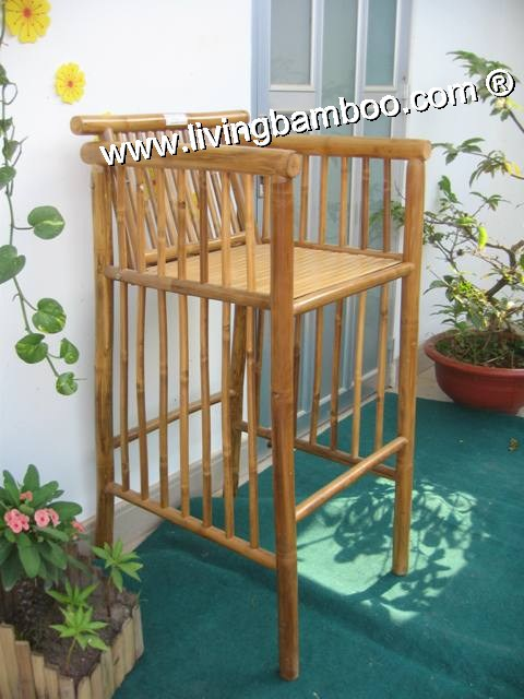 Bamboo Bar Chair and Stool, Bamboo Bar Chair & Stool-SPIN BAR