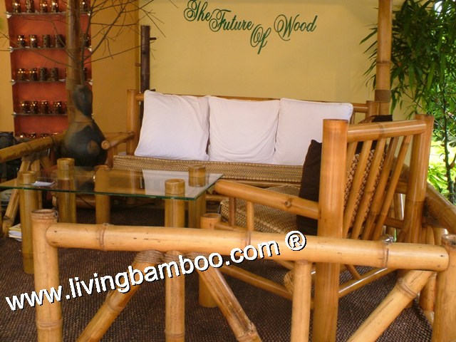 Bamboo Living Room-NAPOLI SOFA SET