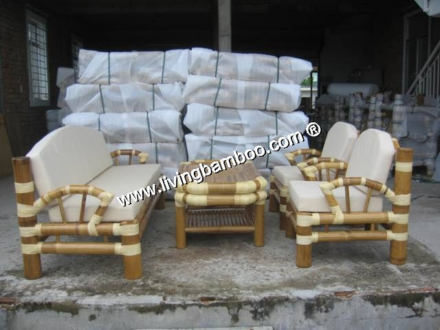 Bamboo Living Room-CHAMPA SET