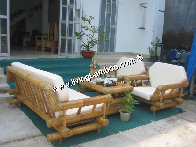 Superieur Bamboo Living Room HA NOI BAMBOO SOFA ...