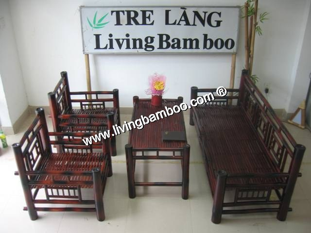 Bamboo Living Room-HUE LIVING SET