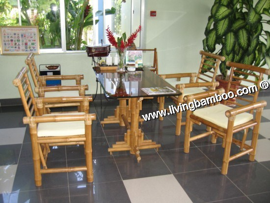 Bamboo Dining Room-NHA TRANG HOLIDAY SET