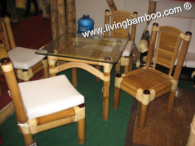 Bamboo Dining Room-DIJON SET