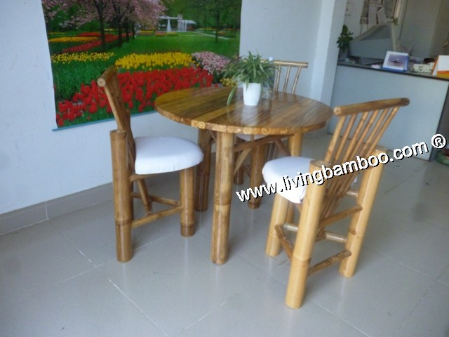 Bamboo Dining Room-SAFFRON CANVAS SET