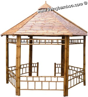 Optional title display for Bamboo roofing materials