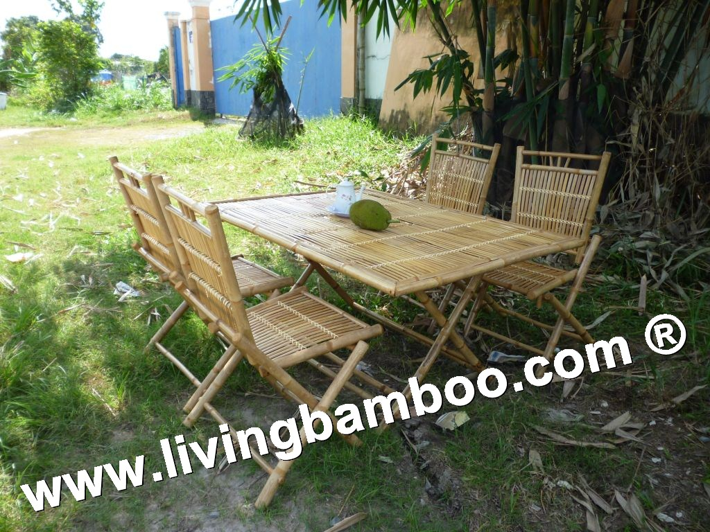 Bamboo Dining Set-OLDENBURG SET