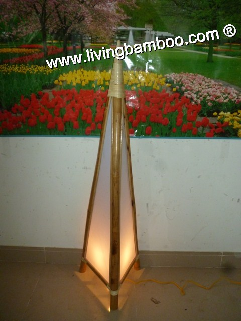 Bamboo Lamp-TRIANGLE LAMP