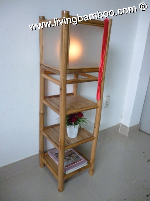 Bamboo Lamp-SHELF LAMP