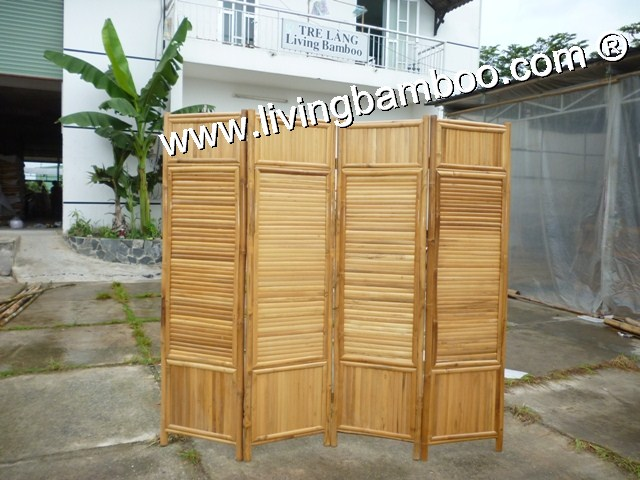 BAMBOO SCREEN AND PARTITION