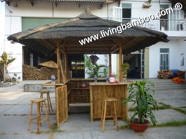Bamboo Tiki Bar-CAN GIO SQUARE TIKI BAR SET