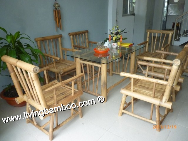 Bamboo Dining Room-NEW YORK DINING SET