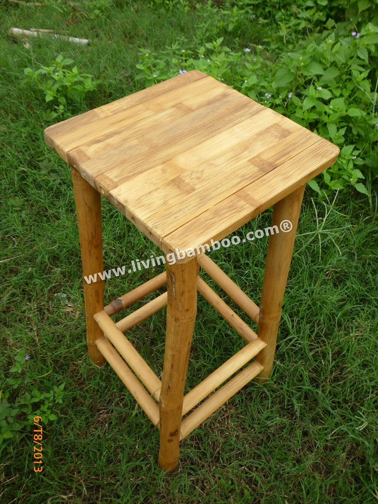 Bamboo Stool-CAN GIO SOLID STOOL