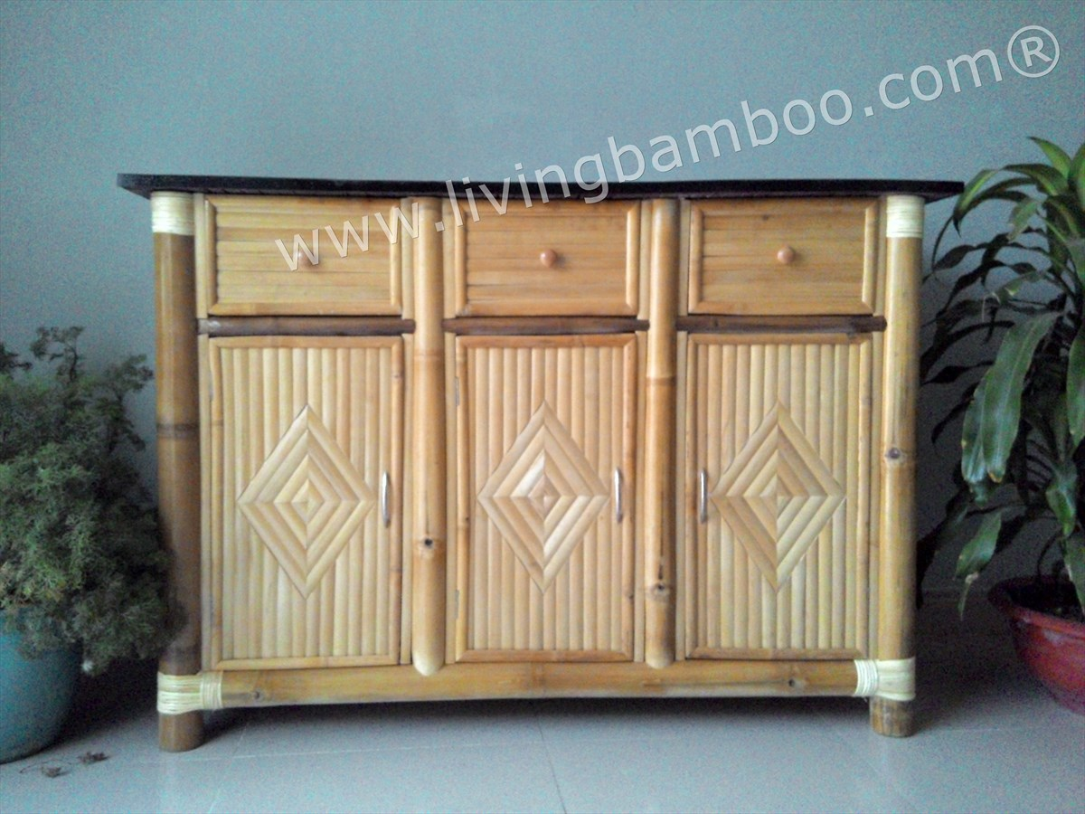 Bamboo Cabinet-SAN FRANCISCO CABINET