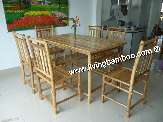Bamboo Dining Room - BINH QUOI DINING SET