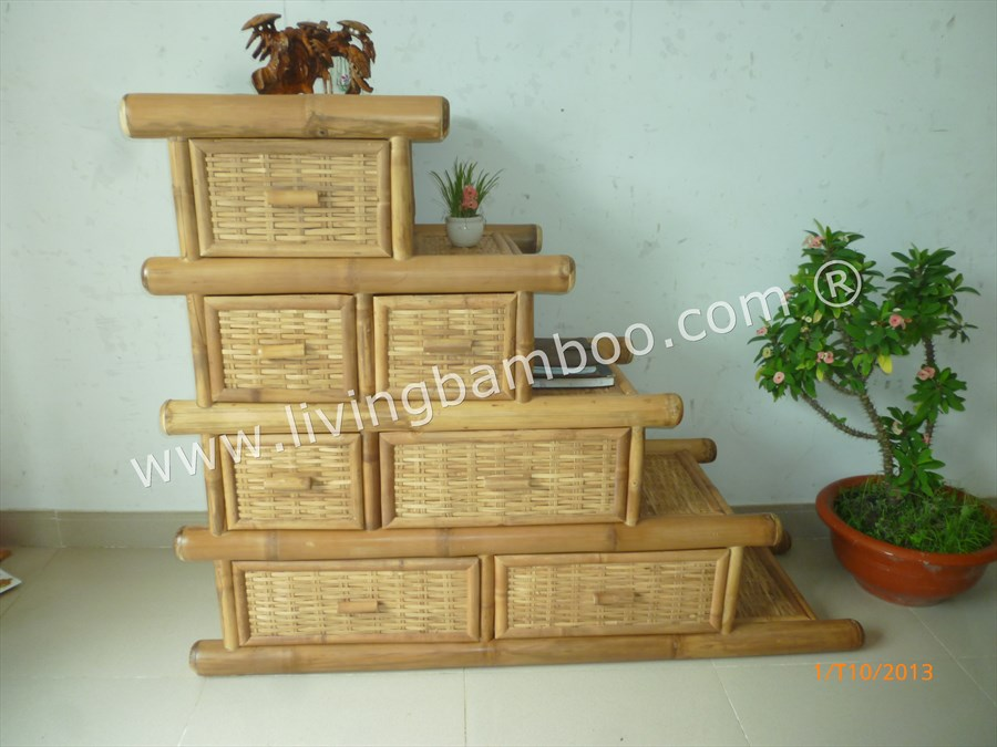 Bamboo Cabinet-STEP CABINET