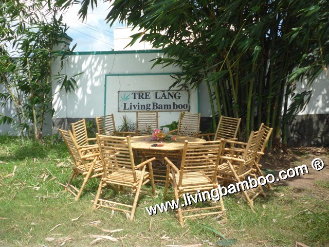 Bamboo Dining Set-NINH KIEU DINING TABLE SET