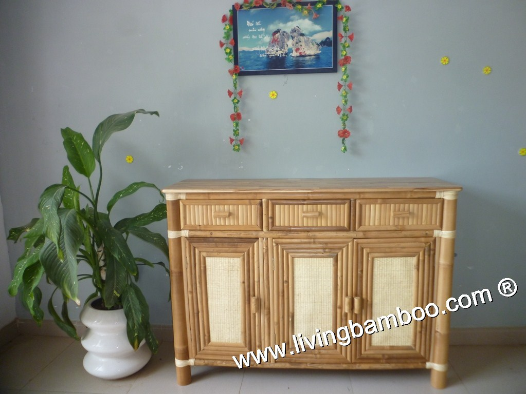 Bamboo Cabinet-WINTER CABINET