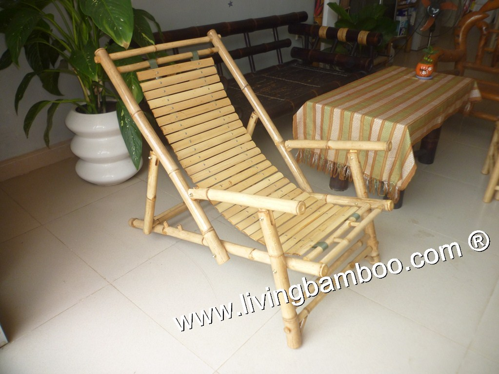 Bamboo Relax Chair-RELAX CHAIR WITH ARM CHAIR