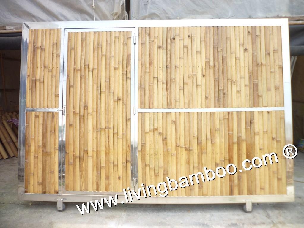 SANTIAGO BAMBOO DOOR; Bamboo Door