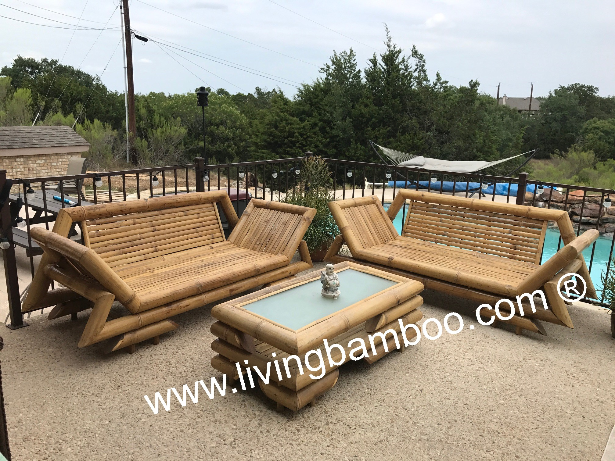 Bamboo furniture, bamboo bed, bamboo outdoor furniture ...